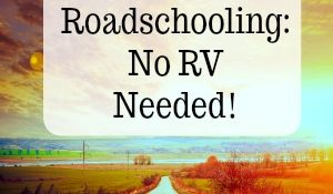 Roadschool No RV Needed!